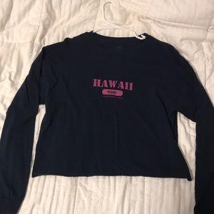 Navy long sleeve Hawai'i
